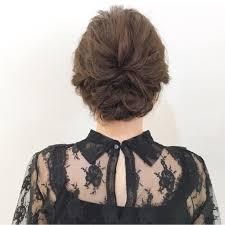 結婚式の髪型はアップスタイルでレングス別お呼ばれヘアアレンジ