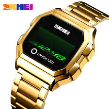 SKMEI <b>Fashion Cool Girls Watches</b> Electroplated Case Transparent ...