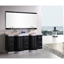 72 inch double sink vanity. design element dec023-ttp jasper 72 inch double sink vanity set w/ travertine stone countertop