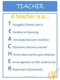 Quotes For Teachers From Students Delectable Acrostic Poem Examples For TEACHER As A Free Thank You To