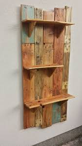 rustic hanging shelves new pallet for the garden houtwerk regarding 9