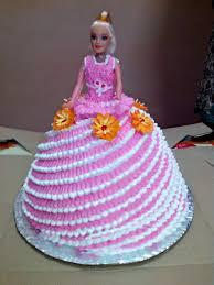 Gorgeus Doll Birthday Cake Ideas Creapptclub