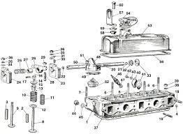 auto part com mgb cylinder head