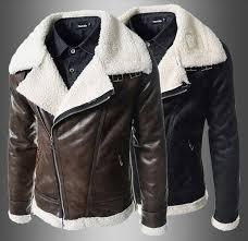 2016 new arrive lamb fur lining men s leather jacket oblique zipper large lapel fur coats winter mens coats warm coat brown 1366 mens leather jackets mens