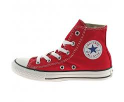 converse red high tops. boys converse canvas all star hi boots size uk 11 - 2 girls kids red 3j232 converse red high tops e