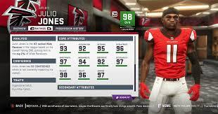 Falcons Depth Chart 2018 Madden 19 Atlanta Falcons Player Ratings Roster Depth