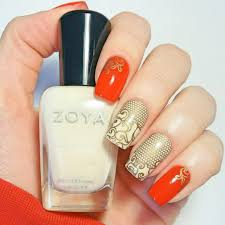 Red and gold nail art ideas for Chinese New Year | Her World