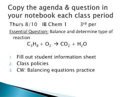 Class Agendas Mrs Schultzs Class Agendas Ppt Download