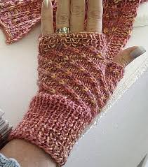 Hand Warmer Knitting Pattern
