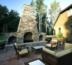 double sided outdoor fireplace backyard fireplace cost outdoor backyard fireplace cost 680 x 622