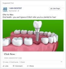 dental web marketing facebook advertising for dentists choosing the right messaging