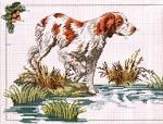 Схеме вышивки охота на уток