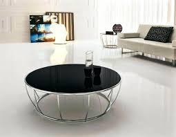 round coffee table decor image of black modern round coffee table coffee table centerpiece