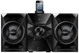 sound system sony. amazon.com: sony mhcec619ip 120 watts music system: home audio \u0026 theater sound system a