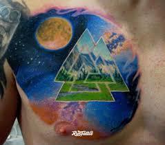 фото татуировки валькнут в стиле реализм славянский татуировки на