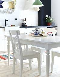 ikea ingatorp round table white table and 4 chairs white