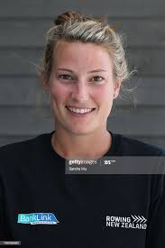 Allie Smith poses before the New Zealand rowing squad announcement... News  Photo - Getty Images