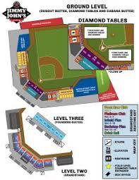 Seating Chart United Shore Professional Baseball League