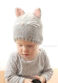 Cat Hat Knitting Pattern