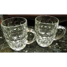 Term for vintage glass with dimples