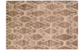 nourison silk shadows sand hand knotted 6x8 rug