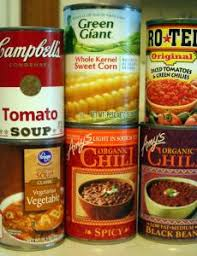 Image result for soup cans
