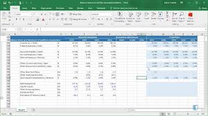 Cash Flow Sheets Balance Sheet And Cashflow Assumptions Online Financial Modeling Training