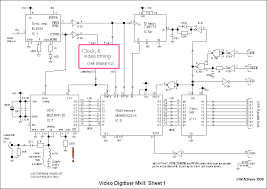 homebuilt video digitiser mkii circuit descriptiondiagram