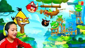 Angry Birds 2 - Juegos Para Niños - !Tenemos Nuevos Personajes Bom y Chuck!  - YouTube