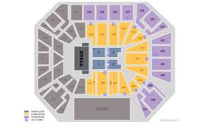 Wintrust Arena Seating Chart With Rows Tickets Comedy Laugh Fest Chicago Il At Ticketmaster