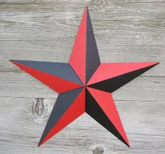 barn stars metal stars nautical stars tin stars rusty stars made in the usa rustic primitive decor in mansfield oh