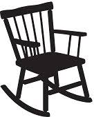 rocking chair silhouette. Download Image Rocking Chair Silhouette N