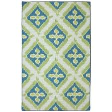 mohawk home summer splash 5 ft x 8 ft outdoor printed patio area rug