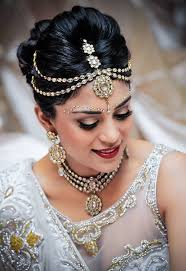 stunning inidan bridal hairstyle and makeup chic indian hairstyle and makeup for wedding