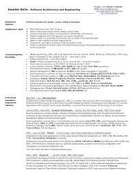 software architect resume enterprise architect resume template examples  software architect resume examples