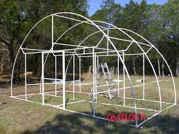 beautiful pictures of a build it yourself pvc dome greenhouse jardin homemade greenhouse plans