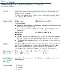 sample resume for company nurse resume sample sample resume and free resume  templates sample cv for . sample resume for company nurse ...