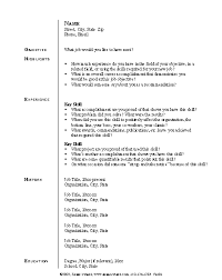 ... Majestic Premade Resumes 12 Functional Ready Made ...