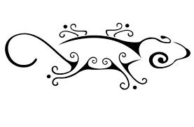 Motiv Tetování Ještěrky 545