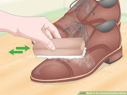 image titled fix ed leather shoes step 1