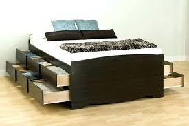 diy king platform bed with storage. Platform Beds With Storage Underneath Bed Diy King