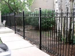 wrought iron privacy fence. Plain Wrought F016jpg Intended Wrought Iron Privacy Fence