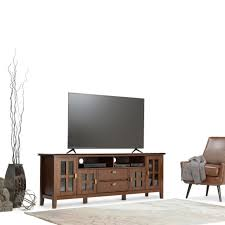 WYNDENHALL Stratford 72inch Wide TV Media Stand For TVu0027s Up To 80 Inches Tv Stand Inches Wide14