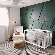 Green And Gray Interior Design The Best Green Nurseries Inspiration