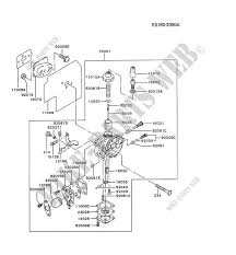 Tg Catalog Carburetor For Kawasaki Tg Motors Tg018d Kawasaki