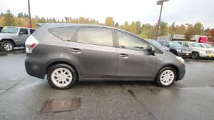 2012 Toyota Prius v Two | Magnetic Gray Metallic | C3101552 ...