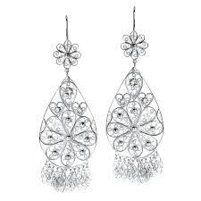 silver chandelier earrings filigree teardrop chandelier earrings in silver silver chandelier earrings canada silver chandelier earrings