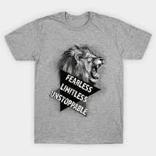 T Shirt Quotes Classy Fierce Lion Motivational Tshirt Motivational Quotes Daily