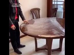 transpa table protective
