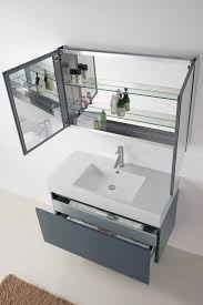 39 Bathroom Vanity Virtu Usa Zuri 39 Single Bathroom Vanity Cabinet Set In Grey